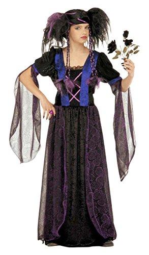 Kostüm 'Gothic Princess' in Größe 5/7Jahre (Gothic Mädchen Kostüm Ideen)