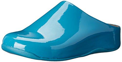 FitFlop Shuv, Damen Clogs & Pantoletten, Blau - Königsblau - Größe: EU 37 (UK 4) (Fitflop Shuv Frauen)