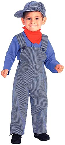 Forum Novelties Lil Engineer Train Conductor Child Costume, Small