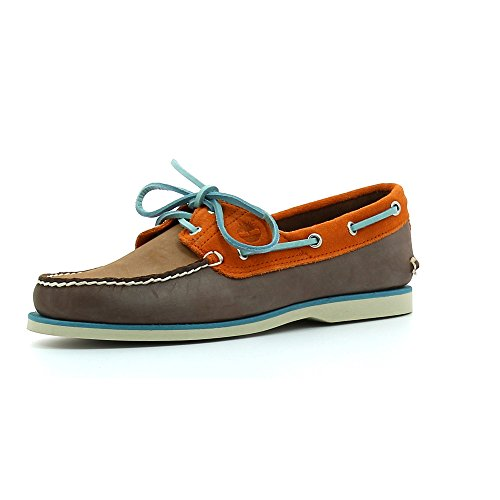CHAUSSURES TIMBERLAND CLASSIC BOAT 2 EYE POTTING SOIL Burnt Orange