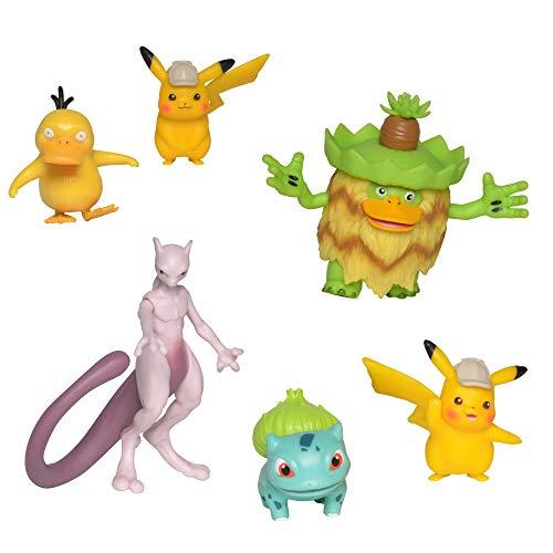 Bizak-  Detective Pikachu Multi 6 Figuras (63227602)