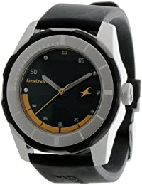 Fastrack Economy 2013 Analog Green Dial Men's Watch -NK3099SP06