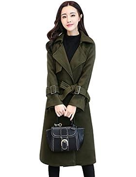 WanYang Mujer Invierno Abrigo Casual Sudadera Chaqueta de Lana Capa Jacket Parka Cardigans