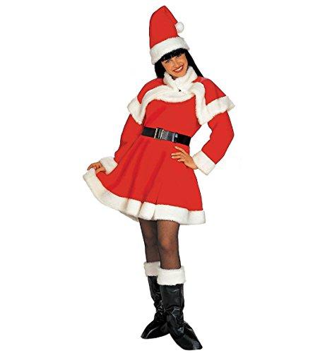 Widmann 15491 - Erwachsenenkostüm Luxus Miss Santa, Kleid, -