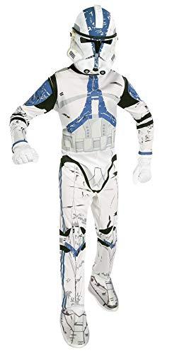 Rubie's star wars costume carnevale da clone trooper guerre stellari/star wars - bambino