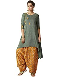 dd695b6df0 Amazon.in: Greens - Salwar Suits / Ethnic Wear: Clothing & Accessories
