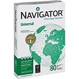 Navigator Kopierpapier Navigator Universal A4 80g/qm weiß VE=500 Blatt