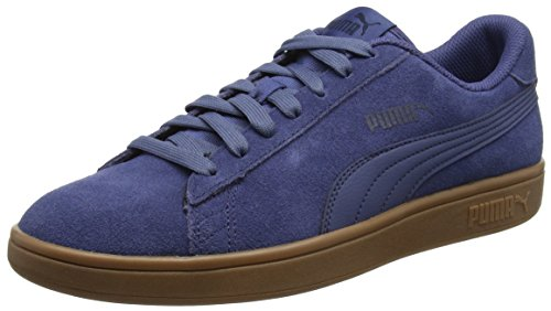 Puma Smash v2, Unisex-Erwachsene Sneaker, Blau (Blue Indigo), 47 EU