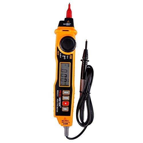 Preisvergleich Produktbild Peakmeter MS8211Stift-Typ Digital-Multimeter mit NCV AC/DC Spannung Strom Widerstand Diode Konnektivität Multitester