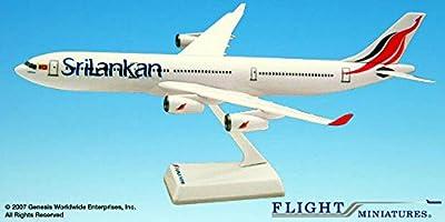 SriLankan - Airbus A340-300 - 1:200 von Flight Miniatures