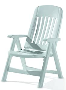 SIEGER 828/W Comtesse Plastic Folding Chair White: Amazon