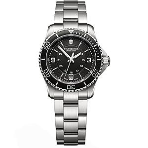 Victorinox Maverick-Reloj de pulsera analógico para mujer cuarzo acero inoxidable 241701 de Victorinox