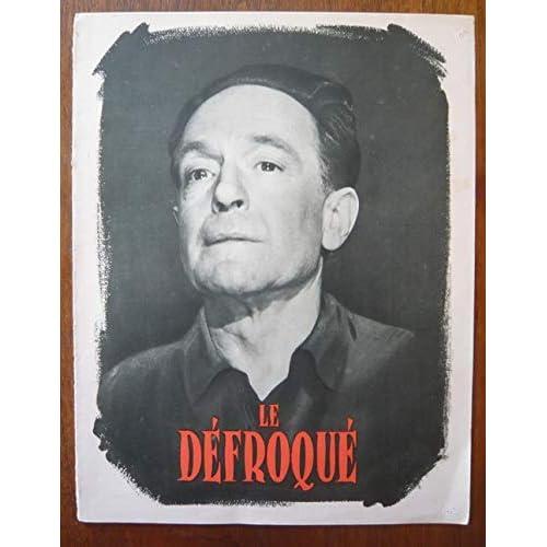 Dossier de presse de Le défroqué (1954) – 24 cm x 31 cm, 8 p – Film de Léo Joannon avec Pierre Fresnay, Pierre Trabaud – Photos N&B - résumé du scénario en français – Bon état.