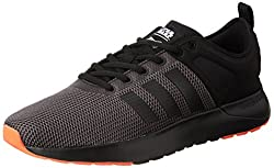 adidas neo Mens Cloudfoam Super Racer Star War Cblack and Solred Sneakers - 9 UK/India (43.33 EU)