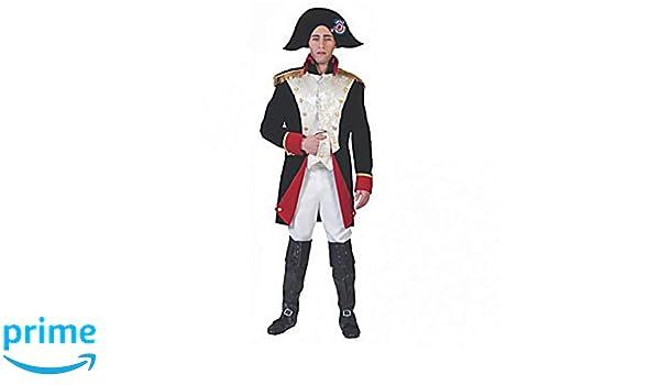 Grenadier Jacke Weste Hose Stiefelüberzieher Hut Kostüm Soldat Karneval Größe XL