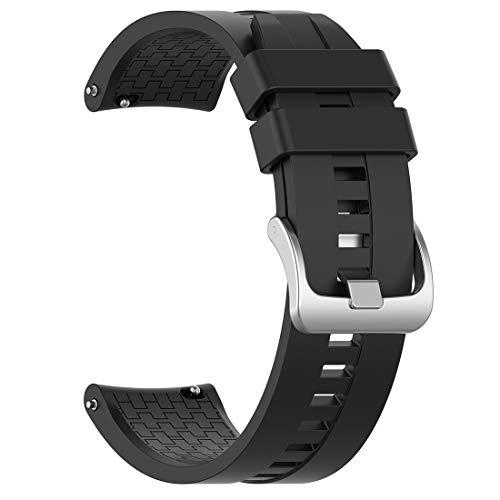 LOKEKE, Cinturino di Ricambio in Silicone da 22 mm per Huawei Watch GT/Huawei Watch GT Active/Honor Magic Watch