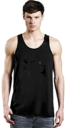 Banksy Star Wars And Little Girl Tank Top XX-Large -