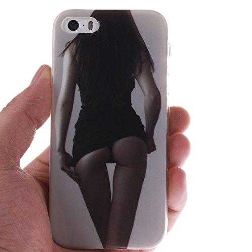 iPhone 4S Hülle Silikon,iPhone 4S Hülle Transparent,iPhone 4S Hülle Glitzer,iPhone 4S Clear TPU Case Hülle Klare Silikon Gel Schutzhülle Durchsichtig Rückschale Etui für iPhone 4,iPhone 4S Hülle Mädch TPU 5