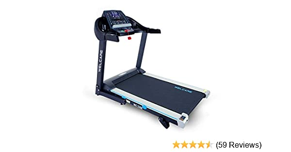 WELCARE WC2266, Motorized Folding Treadmill with LCD display