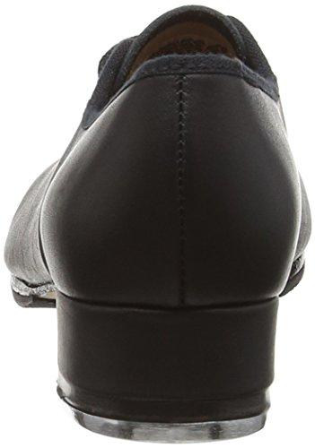 Bloch Jazz Tap, Chaussures de Claquettes Fille Noir (Black)