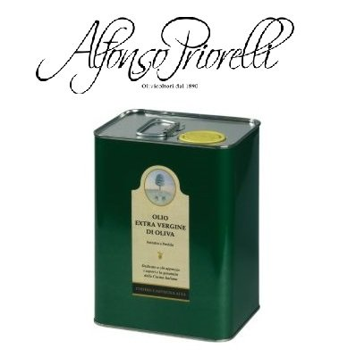 Alfonso priorelli - olio di oliva extra vergine dop umbria colli assisi e spoleto - 3 l