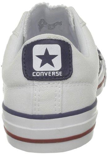 Converse Sp Core Canv Ox, Baskets mode mixte adulte Blanc (Blanc/Noir)