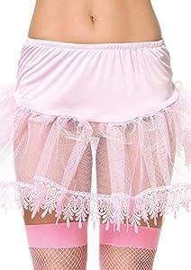 Leg Avenue- Mujer, Color Rosa, Talla Única (EUR 36-40) (8999PNK)