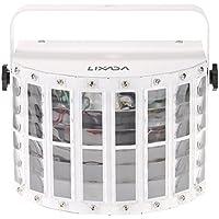 Lixada 100-240V 24W RGBW LED 6 Canale Dmx 512 Vocale Voce-controllo Automatico LED Proiettore Casa Discoteca Fase Illuminazione Luci