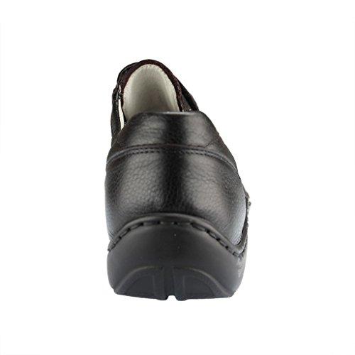 Runner Pigalle 496301 172 001 Scarpa Mezza Pantofola Da Donna Comfort Extra Large Nero (nero)