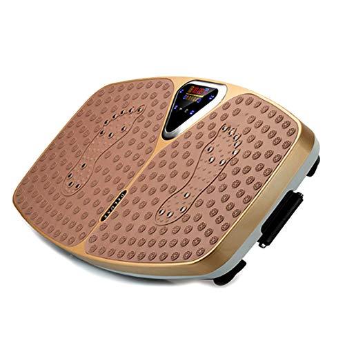CHNG Vibrationsplatte 150 kg Belastbar, Vibrationsplatte Vibrationstrainer Fitness Rüttelplatte Trainingsbänder Fernbedienung Bluetooth Musik Riesige Flächeeinmalige Design