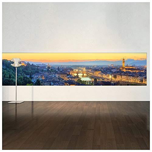 azutura Firenze Tramonto Panoramic Fotomurali Italia Carta da Parati Soggiorno Arredamento Disponibile in 8 Misure Gigantesco Digitale