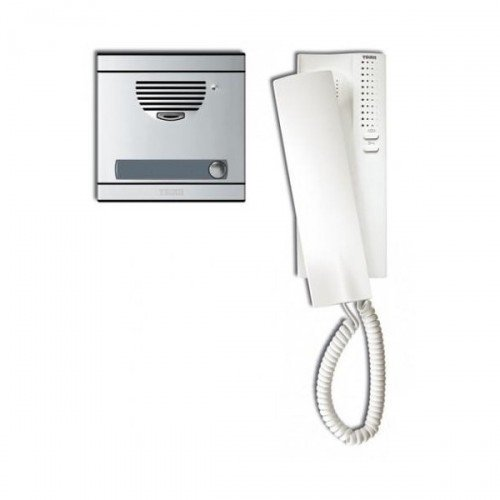 Kit A1 with Plate and Telephone S7 System 4 + N | telefonillo | Intercom | Easy Installation