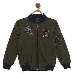 612 League Boys Jacket (ILW17I23033_Olive_3 - 4 years)