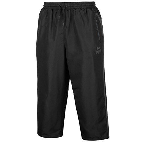 Lonsdale Herren 2 Streifen 3/4 Länge Hose Sporthose Trainingshose Jogginghose