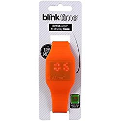 Blink Time - Energiesparende Armbanduhr - Orange
