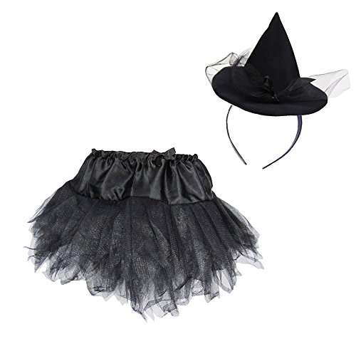 Partybob Kinder Hexenkostüm Set (Niedliche Kleine Mädchen Kostüme)