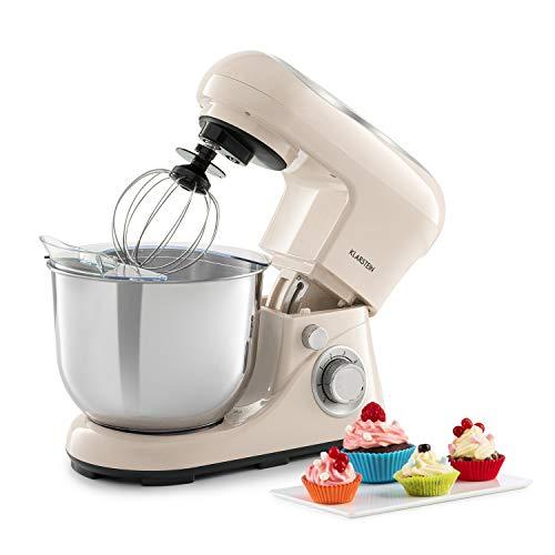Klarstein Bella Pico 2G robot de cocina - 1200 W / 1,6 PS en 6 niveles con efecto pulso,...