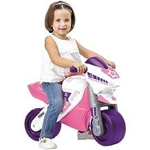 Feber - 800008174 - Véhicule pour Enfant - Moto 2 Racing Girl