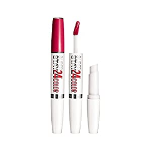 Maybelline New York Superstay 24, 2-step Lipcolor, Reliable Raspberry 010, 2 pack