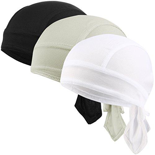 VBIGER Bandana Cap Sommermütze Bandana Kopftuch Atmungsaktive Fahrrad Kopfbedeckung (Bandana Sportliche)