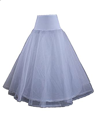LuYan Women's 12 style Wedding Petticoat Bridal Crinoline Prom Underskirt Slips