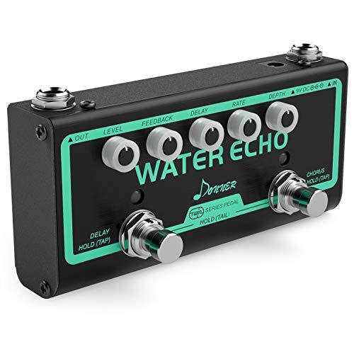 Donner Water Echo Gitarre Effektpedal Chorus und Delay Effektpedal