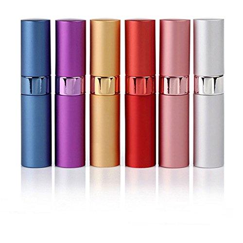 Parfüm-Flaschen Leer Reise-Parfümzerstäuber nachfüllbare 15ml Fantastische Mini Parfüm-Flasche Spray Farbe zufällig (2 Stück) (Große Spray Flasche)