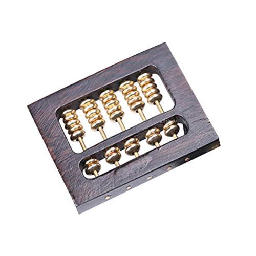 SUPVOX schmuck Machen Charme abakusform Holz DIY für Halskette Armband Keychain Handwerk