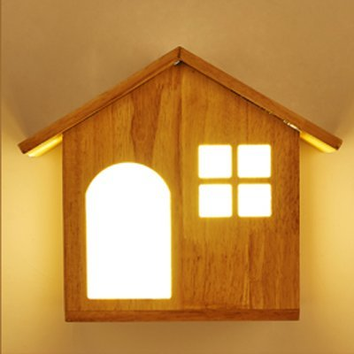 DLpf Modernes, minimalistisches Wohnzimmer Schlafzimmer Bett hölzerne Treppe führte drei Farbe lampe Kabine
