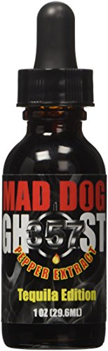 Mad Dog 357 Ghost Pepper Extract Tequila Edition, 1oz by Mad Dog 357