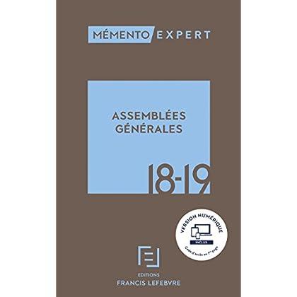 MEMENTO ASSEMBLEES GENERALES 2018-2019