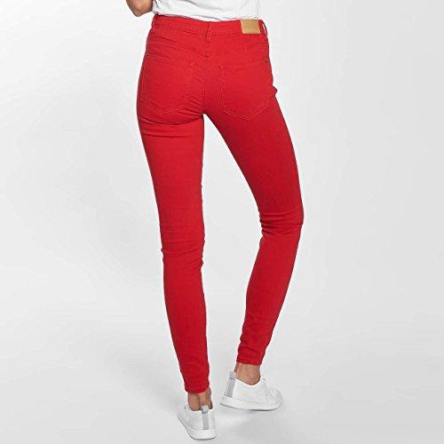 JACQUELINE de YONG Damen Jeans / Skinny Jeans jdyNew Five Rot