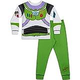 Niños Toy Story Buzz Lightyear o Woody Vestir Pijamas 18-24m 2-3y (18-24 Meses, Buzz)