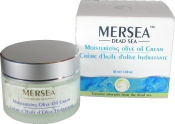 mersea Mar Muerto–hidratantes Día Crema con aceite de oliva (Protección UV), 50ml–Trampa Premium cosmético–directamente de Israel del Mar Muerto
